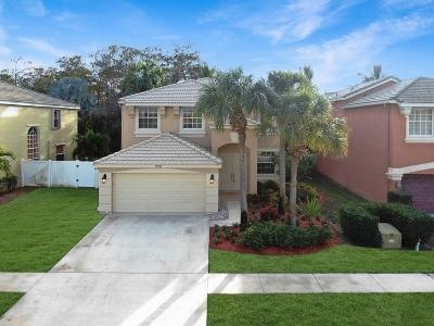 Royal Palm Beach Single Family Home For Sale: 259 Saratoga Boulevard E