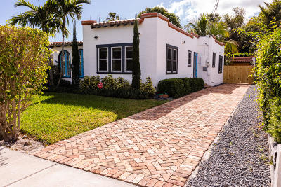West Palm Beach FL Single Family Home For Sale: $278,500