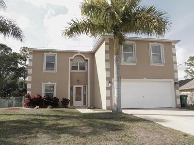 Port Saint Lucie Single Family Home For Sale: 2992 SW Vittorio Street