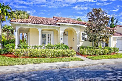 Jupiter FL Single Family Home For Sale: $355,000
