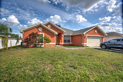 Port Saint Lucie Single Family Home For Sale: 1155 SW Ithaca Street