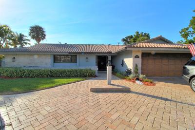 Boca Raton Single Family Home For Sale: 1501 Banyan Road