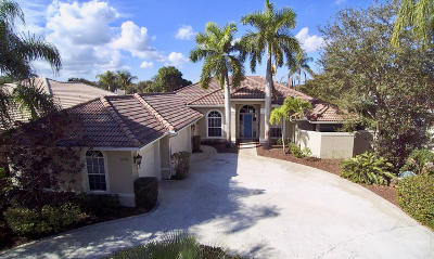 Jupiter Single Family Home For Sale: 6978 Cypress Cove Circle