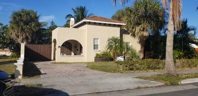 West Palm Beach FL Single Family Home For Sale: $200,000