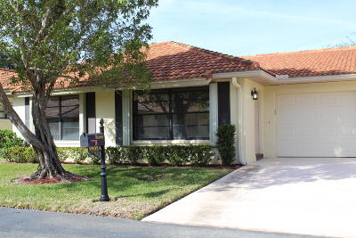 Boynton Beach Single Family Home For Sale: 9905 Pyracantha Tree Terrace #A