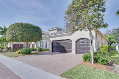 Wellington Single Family Home For Sale: 1191 Bay View Way