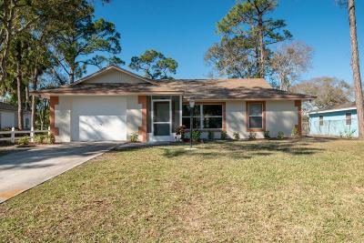 Fort Pierce Single Family Home For Sale: 5211 Bowling Green Drive