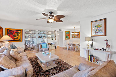 Delray Beach Single Family Home For Sale: 5344 Lakefront Boulevard #A