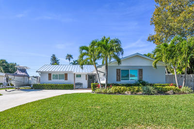 Palm Beach Gardens Single Family Home For Sale: 10105 Daphne Avenue