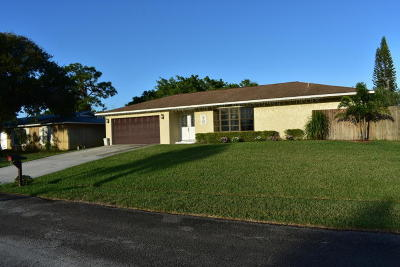 Jensen Beach Single Family Home Contingent: 2299 NE 13th Court