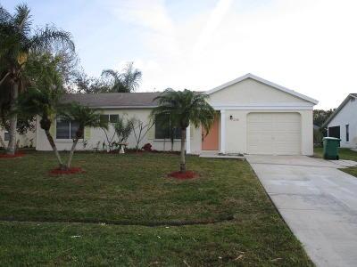 Port Saint Lucie Single Family Home For Sale: 2392 SE Maslan Avenue