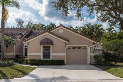 Palm Beach Gardens Single Family Home For Sale: 1904 Rosewood Way