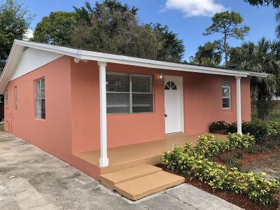 Jupiter Single Family Home For Sale: 6811 3rd Street