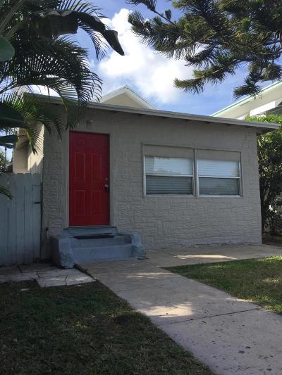 Lake Worth Multi Family Home For Sale: 225 K Street