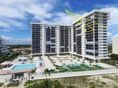 Whitehall, Whitehall At Camino Real, Whitehall Condo, Whitehall Condo At Camino Real, Whitehall Condo Of The Lands Of The President, Whitehall Condominium Apts, Whitehall Condos, Whitehall Village, Whitehall Villages Condo For Sale: 2000 S Ocean Boulevard #12-K