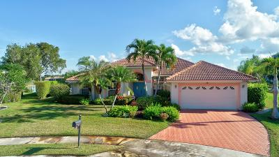Boca Raton FL Single Family Home For Sale: $525,000