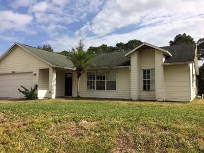 Port Saint Lucie Single Family Home For Sale: 3351 SW Espanola Street