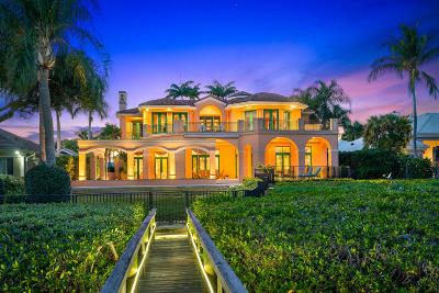 Jupiter FL Single Family Home For Sale: $2,900,000
