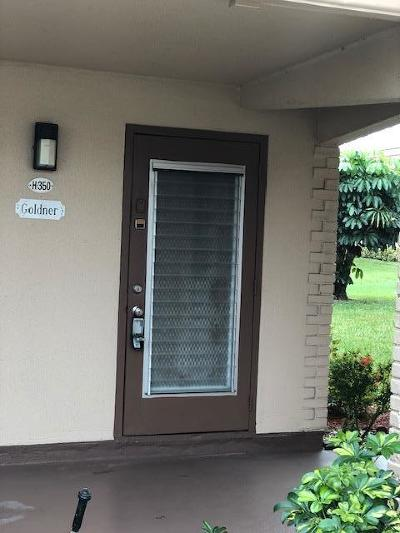Delray Beach FL Condo For Sale: $59,900