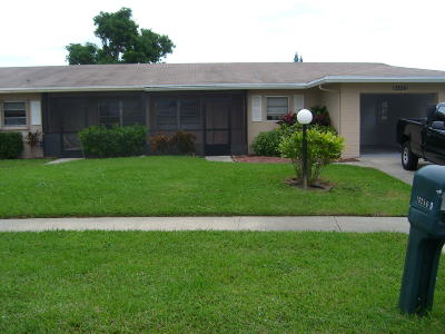 Delray Beach Single Family Home For Sale: 13256 Via Vesta #B
