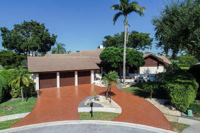Boca Raton FL Single Family Home For Sale: $549,000