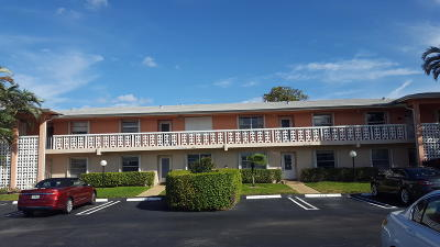 Delray Beach FL Condo For Sale: $142,000
