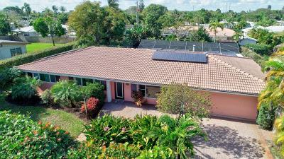 Boynton Beach Single Family Home For Sale: 3013 Fernwood Drive