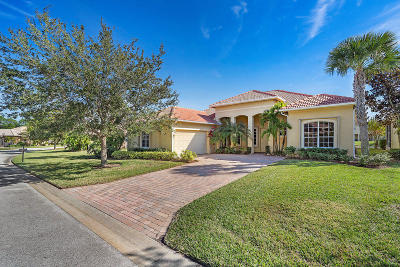 Port Saint Lucie Single Family Home For Sale: 455 NW Dover Court