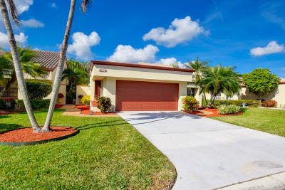 Boynton Beach FL Single Family Home For Sale: $259,900