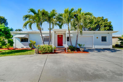 Lake Worth Single Family Home For Sale: 3967 Everett Court