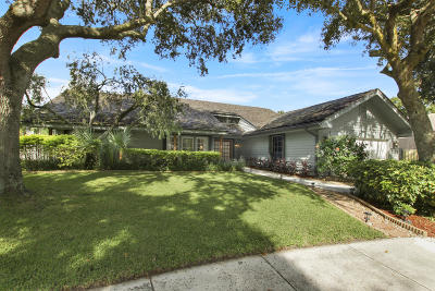 Jupiter Single Family Home For Sale: 117 Timber Lane