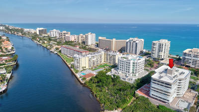 Highland Beach Condo For Sale: 3210 S Ocean Boulevard #204