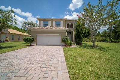 Fort Pierce Single Family Home For Sale: 5808 Spring Lake Terrace