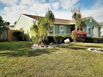 Lake Worth Single Family Home For Sale: 5079 Canal Circle E