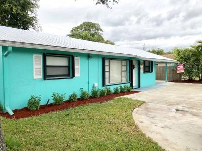 Jupiter Single Family Home For Sale: 18525 Loxahatchee River Road