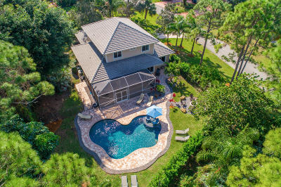 Martin County Single Family Home For Sale: 5452 SW Landing Creek Drive