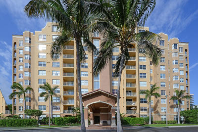 Highland Beach Condo For Sale: 3594 S Ocean Boulevard #305