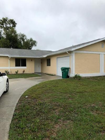 Port Saint Lucie Single Family Home For Sale: 496 SW Eastport Circle
