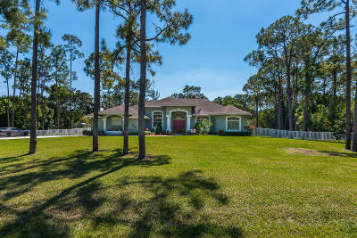 Loxahatchee Single Family Home For Sale: 16158 77th Lane