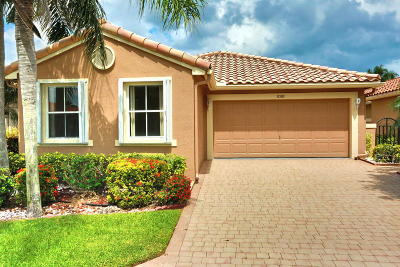 Boynton Beach Single Family Home For Sale: 11580 Augustus Drive