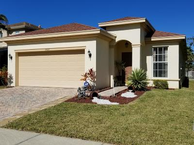 Fort Pierce Single Family Home For Sale: 9504 Portside Drive