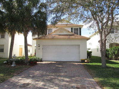 West Palm Beach Single Family Home For Sale: 1147 Winding Rose Way