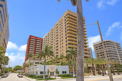 West Palm Beach Condo For Sale: 1551 Flagler Drive #503