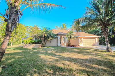 Loxahatchee Single Family Home For Sale: 14717 80th Lane
