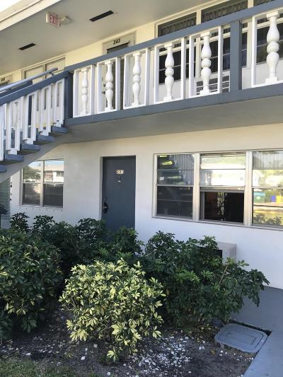 West Palm Beach Condo For Sale: 121 Northampton F