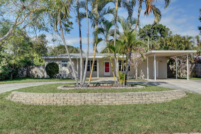 Boca Raton Single Family Home Contingent: 455 NE 36th Street