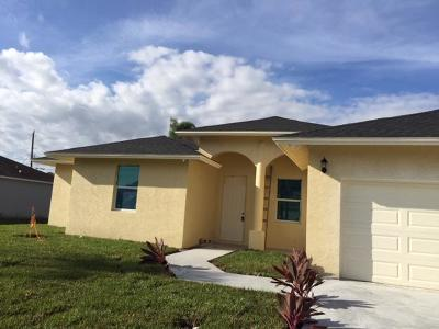 Port Saint Lucie Single Family Home For Sale: 1254 SE Nancy Lane