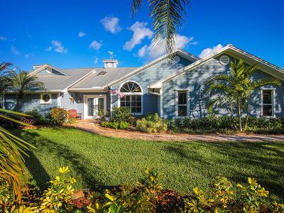 Palm City Single Family Home For Sale: 3615 SW Bimini Circle S