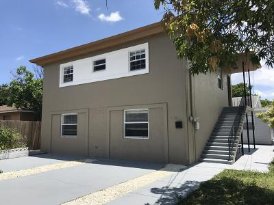 West Palm Beach Multi Family Home For Sale: 940 Charles Street