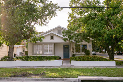 West Palm Beach Multi Family Home For Sale: 4815 Flagler Drive